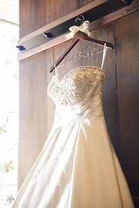 Wedding dress hanger bridal shower gift by for Wedding dress hanger
