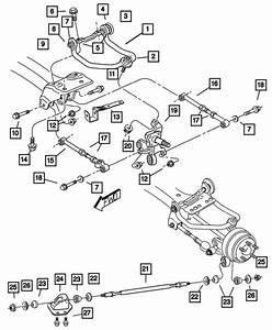 31 2004 Chrysler Sebring Rear Suspension Diagram