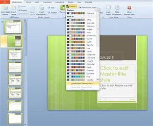 making built in powerpoint templates your own e learning With how to create power point template