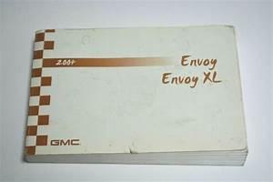 2004 Gmc Envoy Xl Owners Manual Guide Book Oem