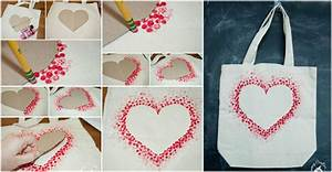 DIY Heart Tote Bag – How To Instructions