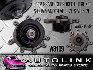 Water Pump For Jeep Grand Cherokee Wh 3  2007 On V6 3 7l