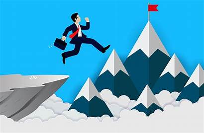 Achieve Success Cliff Business Businessman Finance Vector