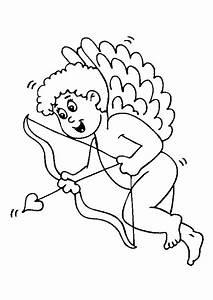 Dessin Saint Valentin : coloriage saint valentin cupidon ~ Melissatoandfro.com Idées de Décoration
