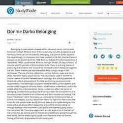 Donnie Darko Essay Non Profit Organization Essay Donnie Darko Video  Donnie Darko Essay Examples