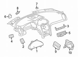 Gmc Acadia Limited Instrument Cluster