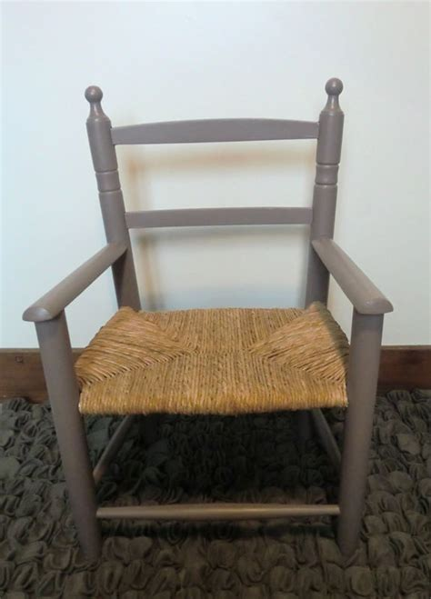 fauteuil enfant paille et taupe atelier darblay le