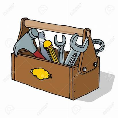 Toolbox Vector Maintenance Clipart Tool Kit Tools
