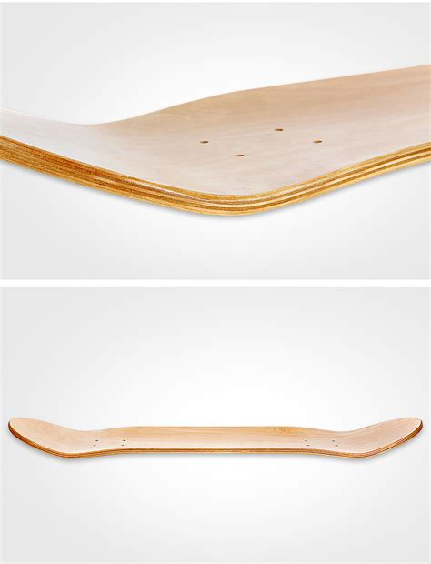 wholesale oem plain blank skate board  ply wood
