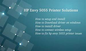 New 123 Hp Com  Envy5055 Printer Setup  Free Driver