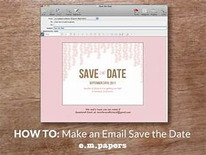 diy wedding save the date email how to With wedding save the date email template