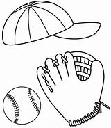 Baseball Coloring Glove Cap Ball Colouring Drawing Softball Clipart Kit Sheets Picolour Clipartbest Colornimbus Getdrawings Visit sketch template
