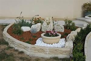 petite rocaille terminee mon jardin mois apres mois With modele de rocaille pour jardin 1 mon jardin en automne suite