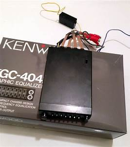 Kenwood Kgc 4042a 5 Band Compact Graphic Equalizer Eq On
