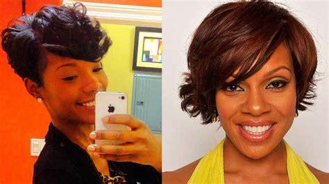 beautiful short natural haircuts for black women short