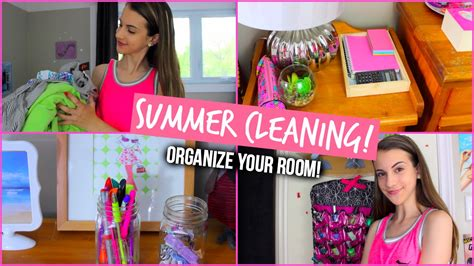Summer Cleaning  Organize Your Room For Summer! Diy