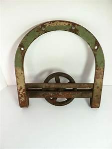 antique horseshoe style barn door trolley roller wheel With antique barn door hardware trolley