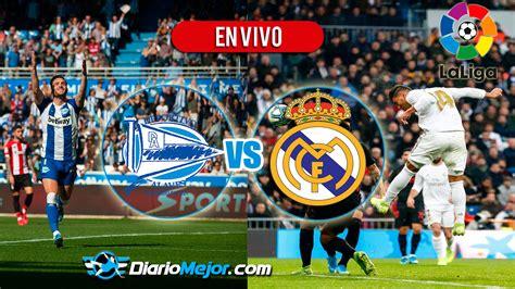 Alavés vs Real Madrid EN VIVO ONLINE Jornada 20, Hora Y ...