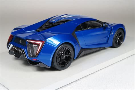 Top Marques Collectibles Lykan Hypersport, 1:18 blue   TOP30D