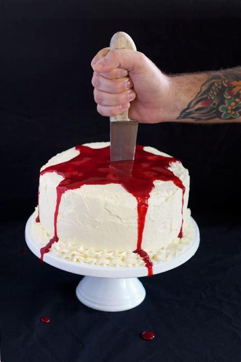 halloween bleeding cake love swah