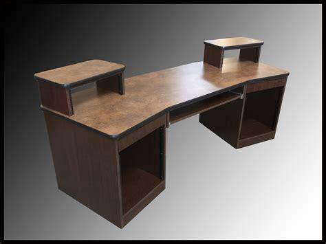 Omnirax Presto 4 Studio Desk Mahogany by Omnirax Presto 4 Studio Desk Multi Unit House Plans