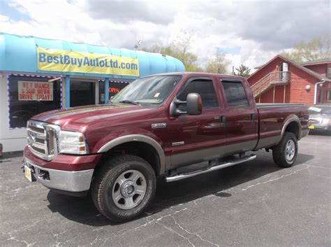 Ford Diesel Truck Mpg by 2006 Ford F 350 Larait 6 0l For Sale