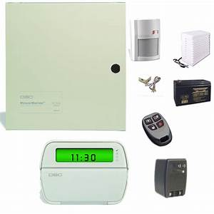 Dsc Wired And Wireless Security System Pc1616 With Rfk