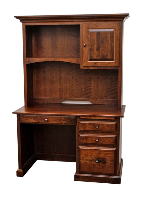 small student desk with hutch traditional student desk w hutch top dutch craft furniture