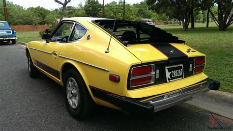 Datsun 280z 1977 by 1977 Datsun 280z Zap Edition Yellow Original 80k