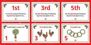 Twelve Days Of Christmas Visual Aids  Twelve Days Of Christmas, Xmas, Story