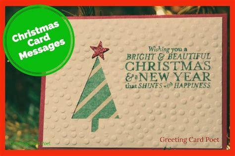 There's no other way of making your special someone feel loved than by giving personalized, handmade greeting cards. Christmas Card Messages To Brighten the Holidays | Greeting Card Poet