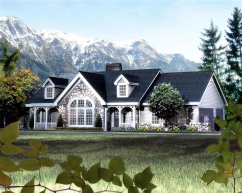 cape  cottage country ranch victorian house plan
