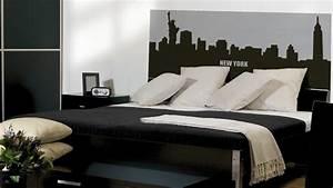 Décoration New York Chambre : am nagement chambre adulte new york ~ Melissatoandfro.com Idées de Décoration