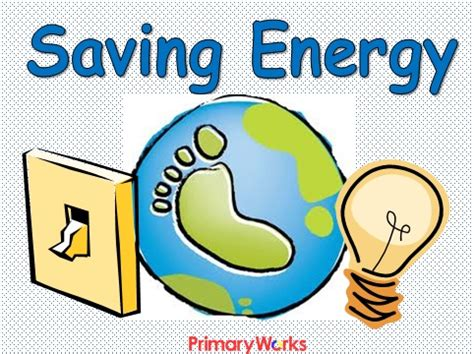 Saving Energy PowerPoint