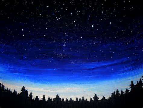 Night Sky Oil Paintings Online Store