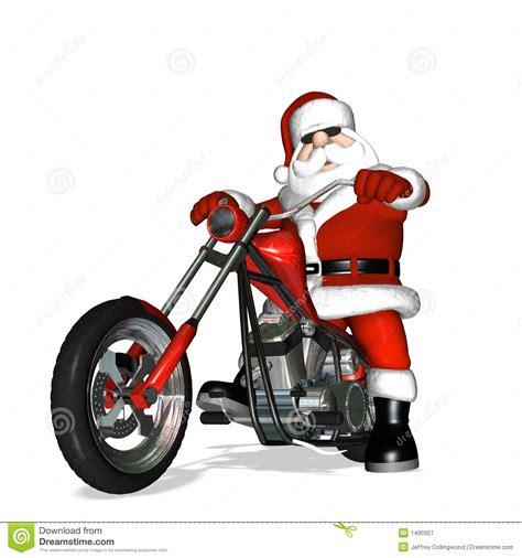 biker clipart santa pencil and in color biker clipart santa