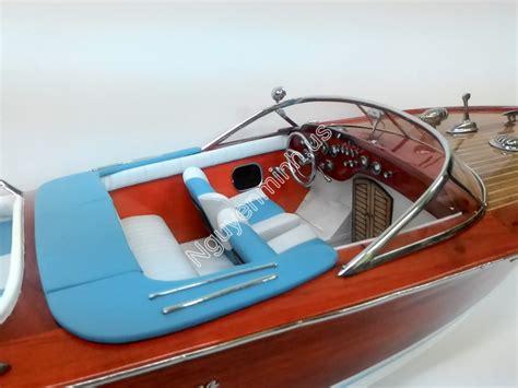 Lamborghini Boat Wood by Riva Lamborghini 87cm Wooden Model Ship For Sale Speed