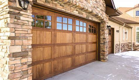 beautiful custom wooden garage door designs