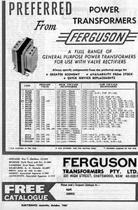 A R Sonar And Furguson Transformers