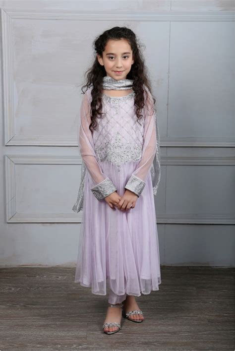 Maria B Fancy Kids Dresses Designs 2018 19 Collection for