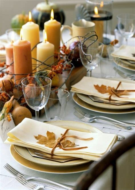 thanksgiving table setting 34 natural thanksgiving table settings digsdigs