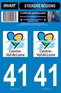 Plaque Immatriculation Verte : 2 stickers r gions d partement 41 stickzif sr41 plaques d 39 immatriculation et stickers autocollant ~ Maxctalentgroup.com Avis de Voitures