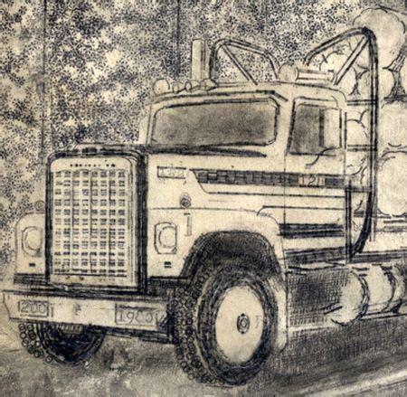 images  truck art  pinterest tow truck