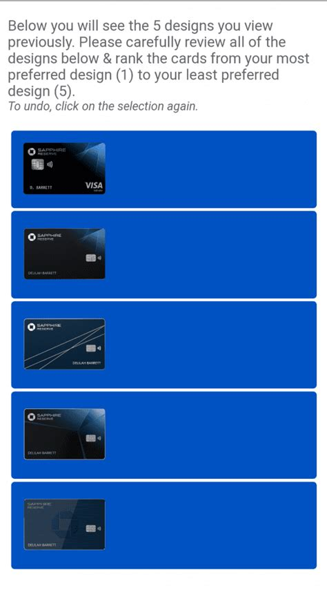 Aug 05, 2021 · all chase credit cards require good or excellent credit for approval, and chase also has a rule that limits new credit cards to consumers it considers have too many already—the chase 5/24 rule. Chase Considering Card Redesign On Sapphire Reserve ...