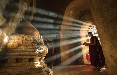 Meditation Monks Smoke Buddhists Desktop вконтакте Telegram