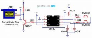 Electronics Tricks And Tips  How To Make A Simple Servo Motor Tester Circuit
