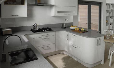 white gloss kitchen ideas white gloss cupboards grey granite worktop search