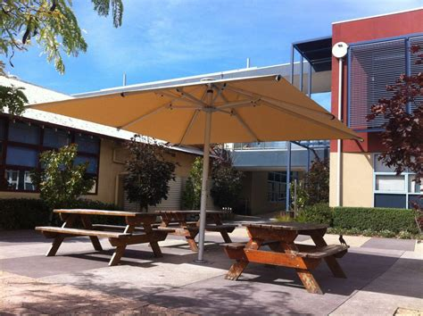 Large Outdoor Umbrellas and Shades