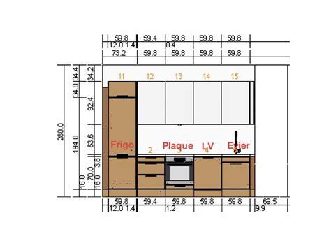 plan electrique cuisine normes électriques pour cuisine dans un appartement en