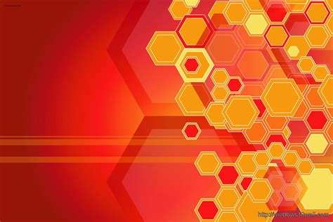 abstract background wallpaper orange hexagon windows